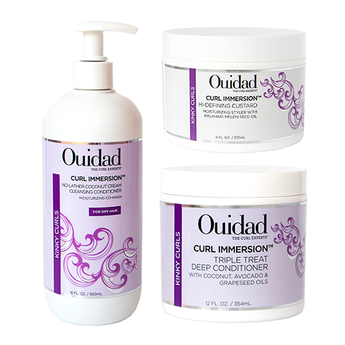 Shop Ulta Beauty's Gorgeous Hair Event and receive 50% off OUIDAD Curl Immersion Collection