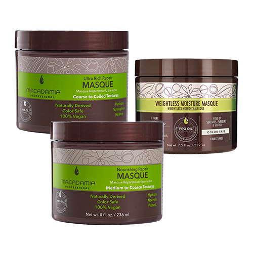 Shop Ulta Beauty's Gorgeous Hair Event and receive 50% off MACADAMIA PROFESSIONAL Masques