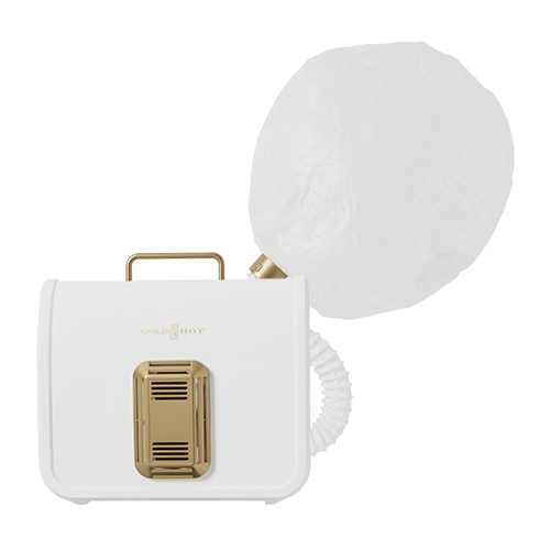 Shop Ulta Beauty's Gorgeous Hair Event and receive 50% off GOLD 'N HOT Professional Ionic Soft Bonnet Dryer