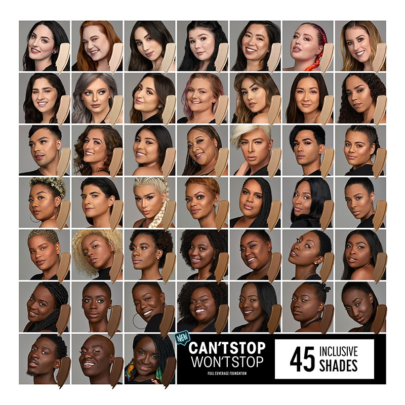 Find your shade of NYX Professional Makeup s Can t Stop Won t Stop  Foundation c8ab6804d2ef7