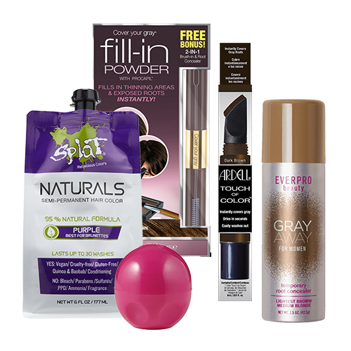 Shop Ulta Beauty's Gorgeous Hair Event and receive 50% off Discover Touch of Color Entire Brands Ardell, Dippity Do, Splat, Cover Your Grey, Everpro