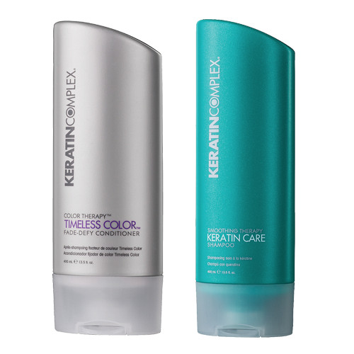 50% Off Keratin Complex Shampoo and Conditioner 8.5-13.5oz