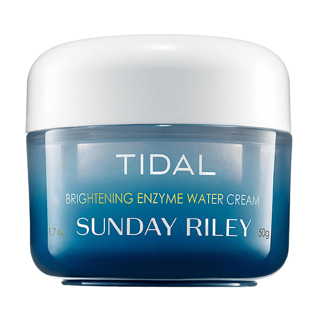 Shop Ulta Beauty's 21 Days of Beauty and receive 50% off SUNDAY RILEY* Tidal Brightening Enzyme Water Cream 1.7 oz