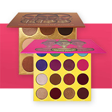 JUVIA'S PLACE 40% Off The Warrior andThe Masquerade Mini Eyeshadow Palettes reg $20-25