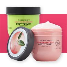 THE BODY SHOP 40% Off Body Yogurt reg $15