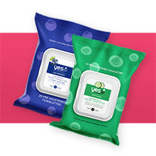 YES TO 40% Off Wipes reg $5.99