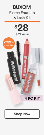 Fierce Four Lip & Lash Kit $28/ $39 Value