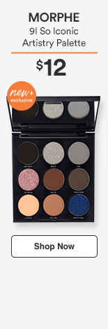 Morphe New & Exclusive! 9I So Iconic Artistry Palette $12