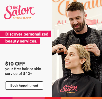 $10 off your first hair or skin service of $40+