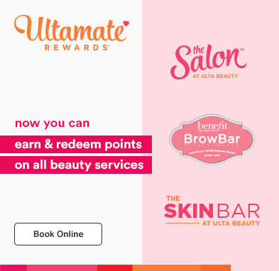 Now you can earn AND redeem points on all Beauty Services!