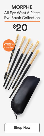 Morphe New & Exclusive! All Eye Want 6-Piece Eye Brush Collection $20