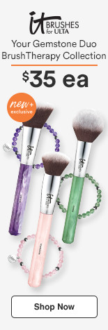 IT Brushes for Ulta Your Gemstone Duo Brush Therapy Collection $35 each