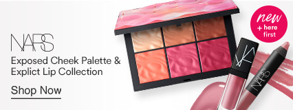 Exposed Cheek Palette and Explict Lip collection New and Here first