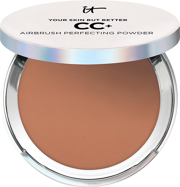 IT COSMETICS Your Skin But Better CC+ Airbrush Perfecting Color Correcting Setting Powder
