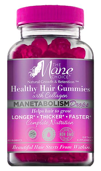 The Mane Choice Manetabolism Healthy Hair Gummies with Collagen