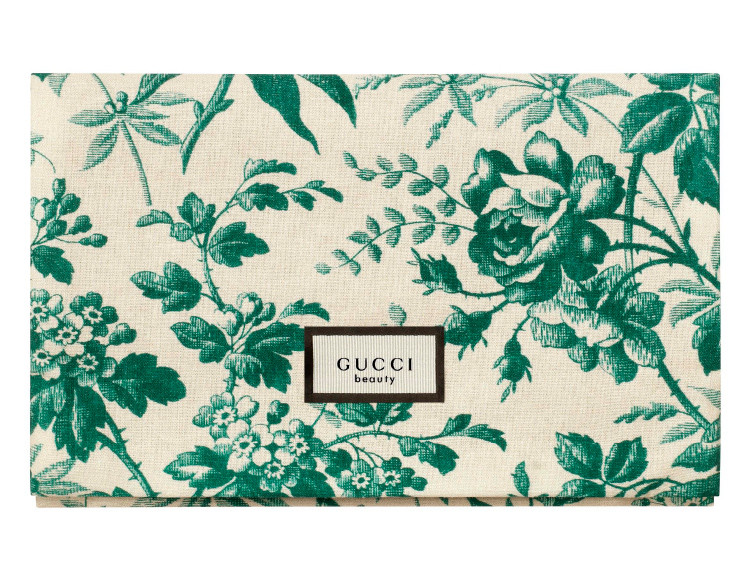 Get a free Gucci pouch with any 3.4 oz Gucci Bloom fragrance purchase.
