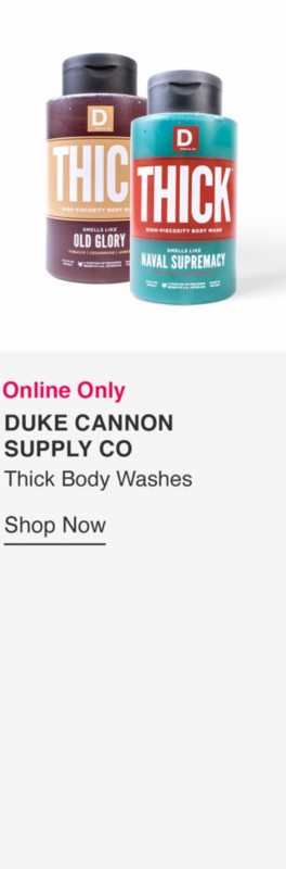 Thick Body Washes