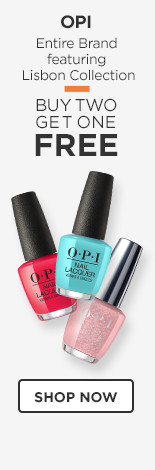 OPI Buy 2 Get 1 Entire Brand featuring Lisbon Collection.