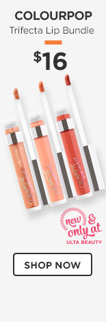 New & Only at Ulta Beauty! ColourPop Trifecta Lip Set $16