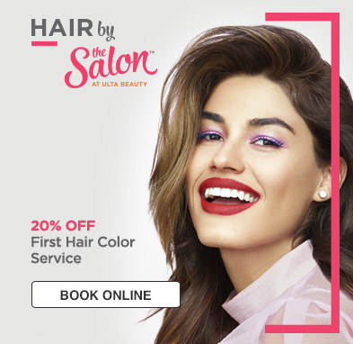 20% off first hair color.