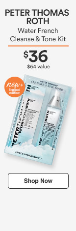 PTR Water Drench Cleanse & Mist Duo $36