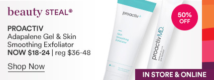 Adapalene Gel and Skin Smoothing Exfoliator NOW $18 - $20 | reg $36 - $40