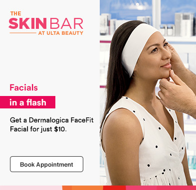 Facials in a flash! Get a Dermalogica FaceFit Facial for just $10!
