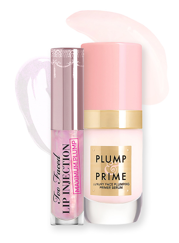 Too Faced Plumped to the Max Duo Lip Plumper & Plumping Face Primer