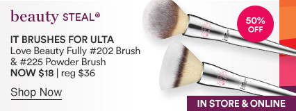 Love Beauty Fully Complexion Powder Brush #225 NOW $18 | reg $36