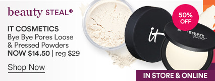 Bye Bye Pores Loose and Pressed Powders NOW $12-$14.50 | reg $24-$29