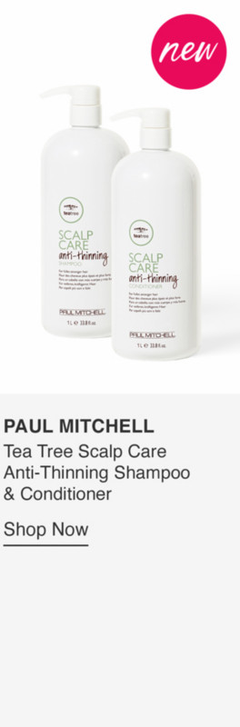 Tea Tree Scalp Care Anti-Thinning Shampoo & Conditioner