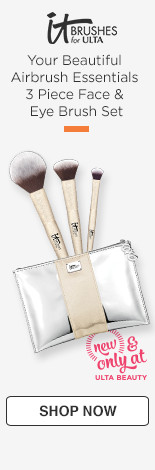 Your Beautiful Airbrush Essentials 3pc Face & Eye Brush Set, $42/$65 value.