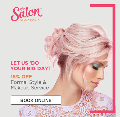 15% OFF FORMAL STYLE & MAKEUP.. Offer expires 6.3.18.