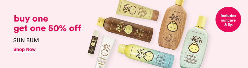 Buy One Get On 50% off Suncare