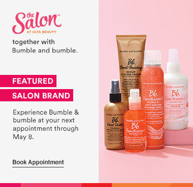 Experience Bumble & bumble at your next salon appointment thru 5.8.21. Book appointment: Salon together with Bumble & bumble.