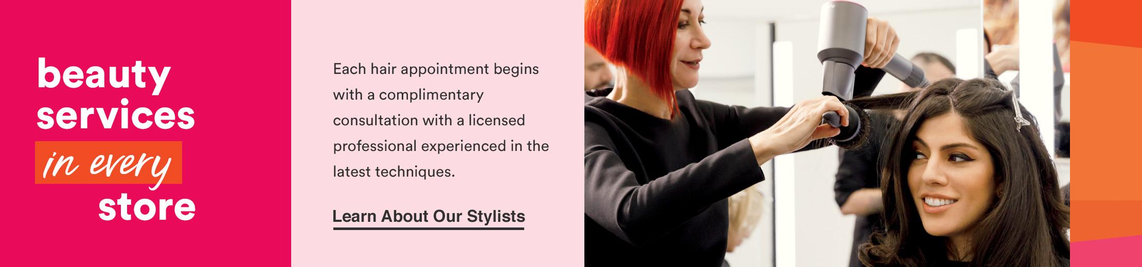 ulta salon hair & beauty services menu | the salon at ulta