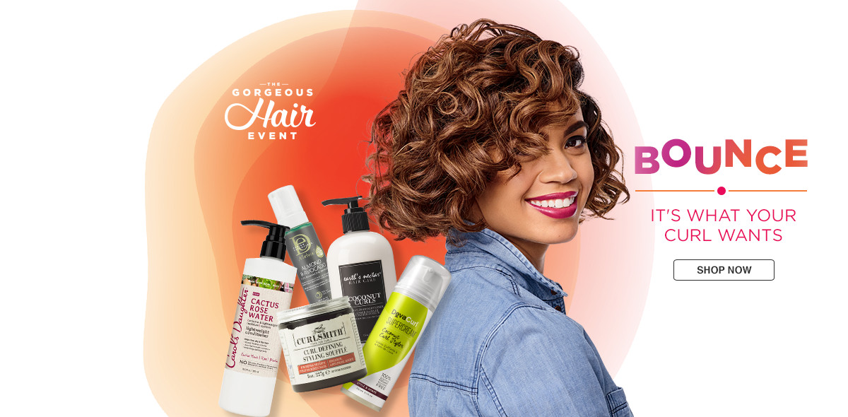What a Curl wants. Give your curl the VIP treatment with products for every  type