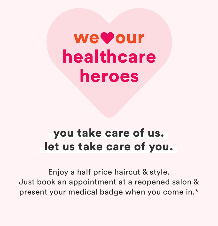 We Love Our Healthcare Workers - You Take Care of us. Let us take care of you.
