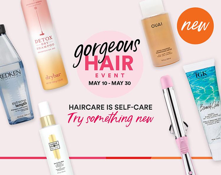 Gorgeous Hair Event - Newness
