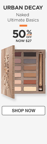 50% off Urban Decay Naked Ultimate Basics. NOW $27
