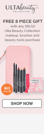 Ulta Beauty Collection Free Wristlet with any $16.50 Ulta Beauty Collection makeup, brushes & beauty tools purchase $63 Value
