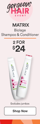 Matrix Biolage 2 for $24 shampoo and conditioners