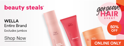 50% OFF Entire brand - Wella