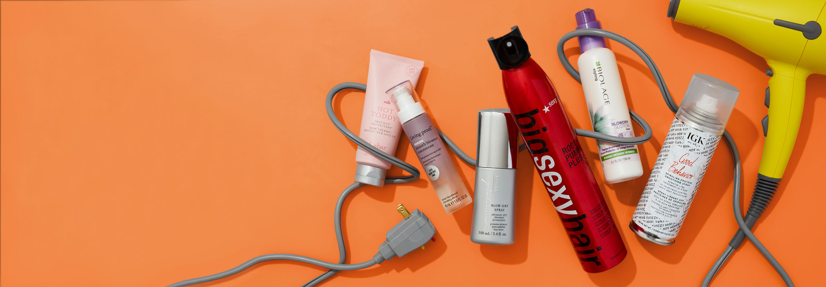 Keep your blowout bouncy, sleek and chic  no matter what summer throws at it.