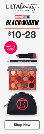 Ulta Beauty Collection x Marvel's Black Widow $10-$28