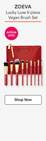 Lucky Luxe 9pc Vegan Brush Set