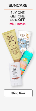 Buy 1 Get 1 50% Mix & Match. Ulta Beauty Collection Suncare, Sun Bum Suncare, Pacifica, Australian Gold & many more.