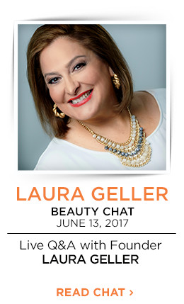 Live Beauty Chat with the founder of Laura Geller on June 13, 2017 from 12-1 p.m. CT. Celebrate 20 years of platinum perfection with a new collection.