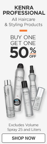 Kenra Professional Buy one get one 50% off Reg $7-33, excludes Volume Spray and Liters
