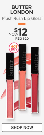 Hot Buy! Plush Rush Lip Gloss, Now $12/Reg$20